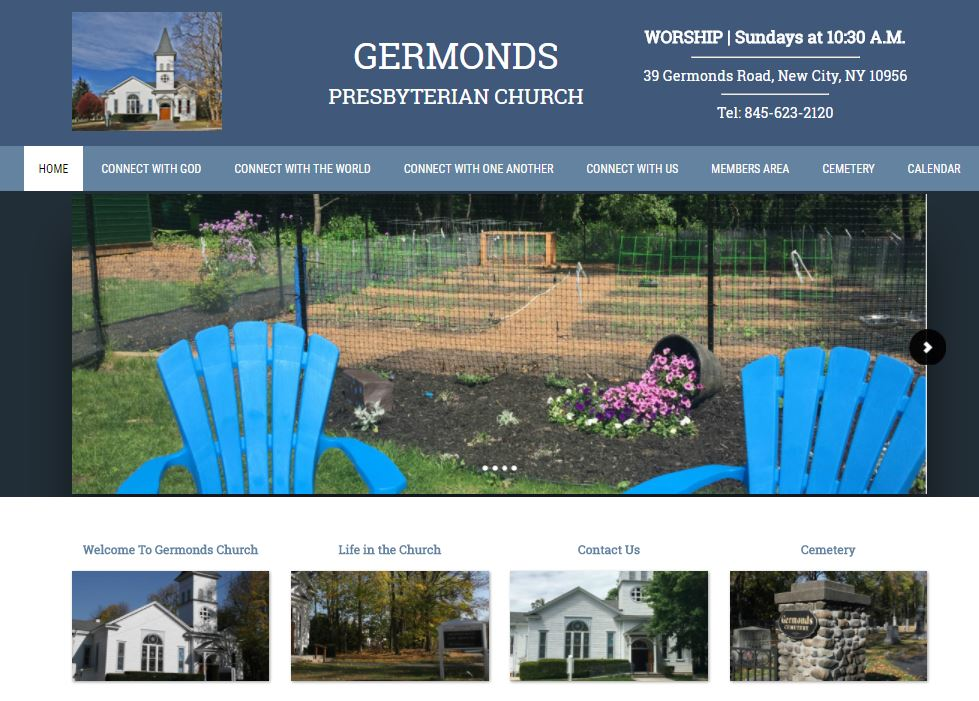 Germonds Presbyterian Church, Bardonia NY. Side note, it was a joy to work with this Church! www.germondschurch.org