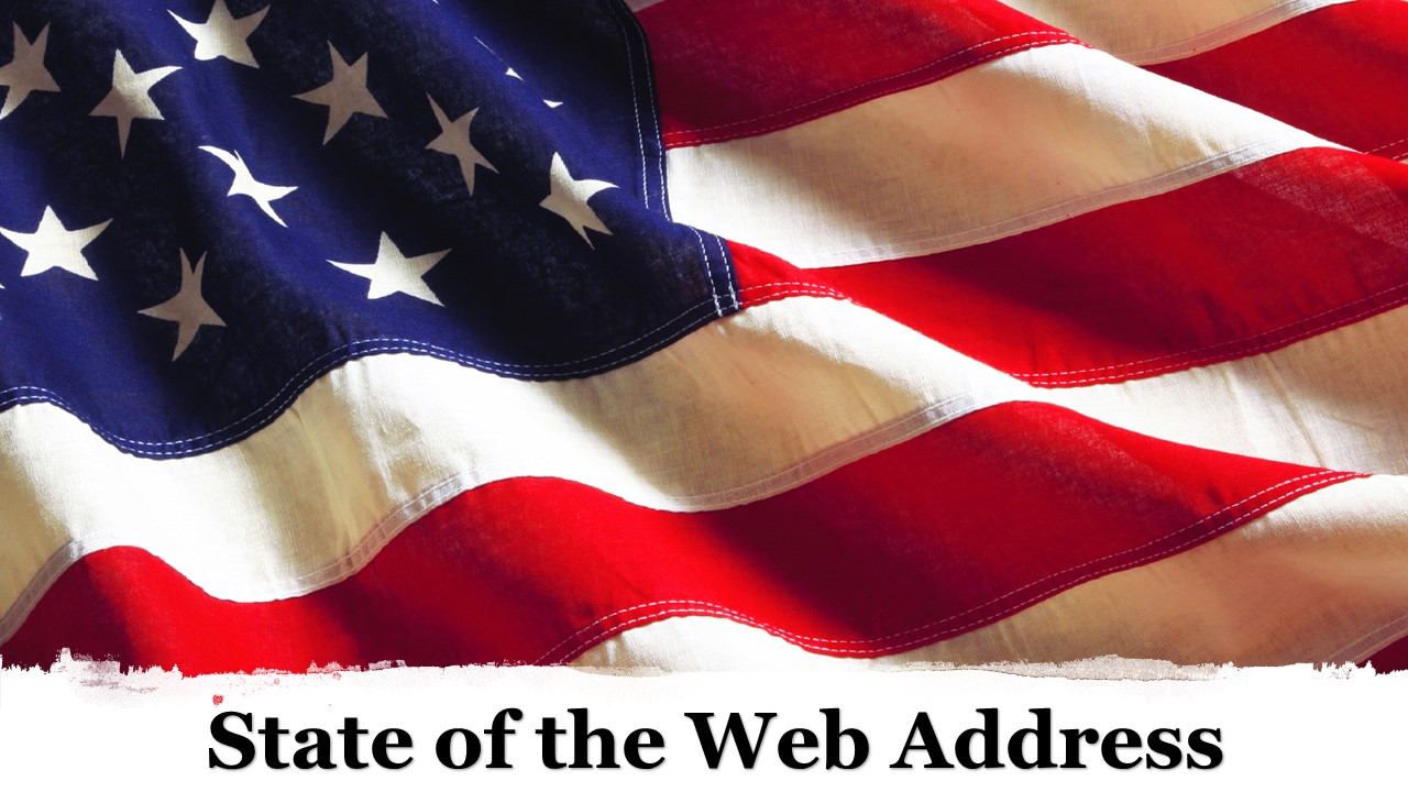 The State of the Web Address 2019 - A Preview